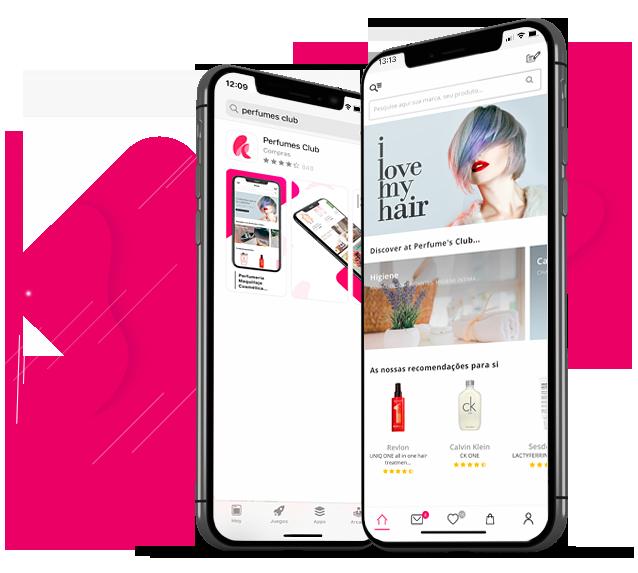 Descarregue grátis a aplicação da Perfume's Club