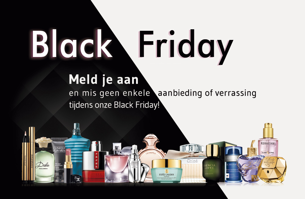 Aanbiedingen Black Friday 2019 Perfumes Club