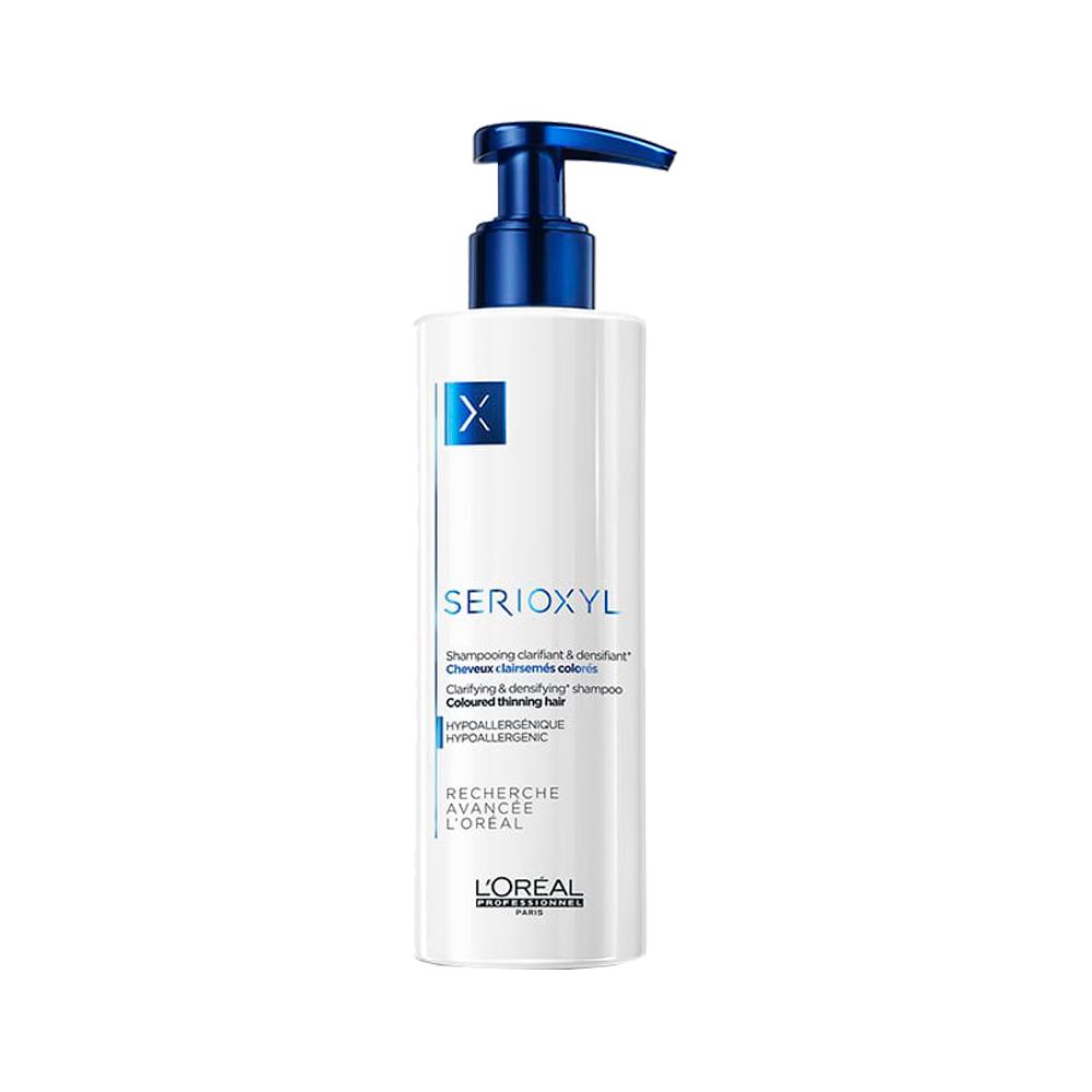 SERIOXYL shampoo colored