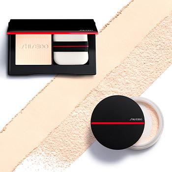 Shiseido POLVOS Y BROCHAS