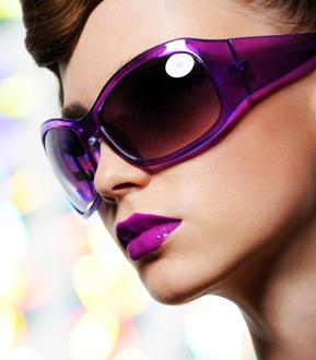 Gafas con protección solar
